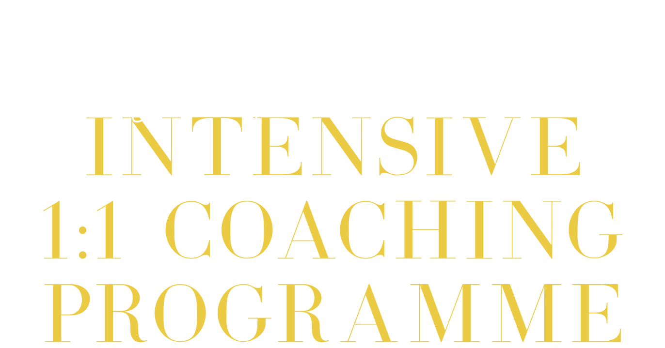 work with me intensive program